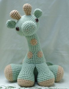Amigurumi is a  Japanese crochet trend to small stuffed animals and anthropomorphic creatures. The word is derived from a combination of the Japanese words ami, meaning crocheted or knitted, and nuigurumi, meaning stuffed doll.